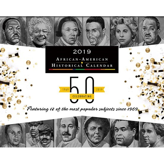 BlackFacts.com Black History Calendar - 2019